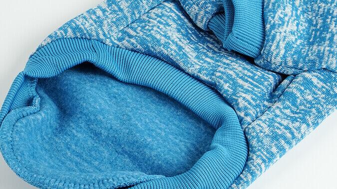 Modrá mikina pro kočku Classic