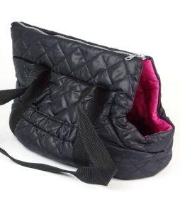 Černo-růžová taška pro sphynx