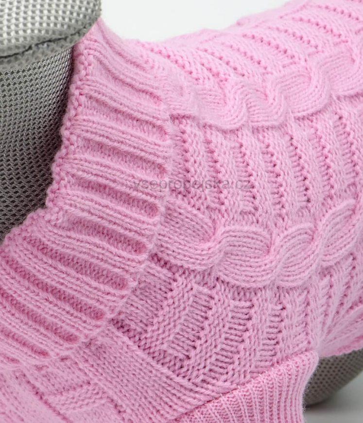 Růžový svetr pro kočku - svetry pro sphynx - prosphynx.cz