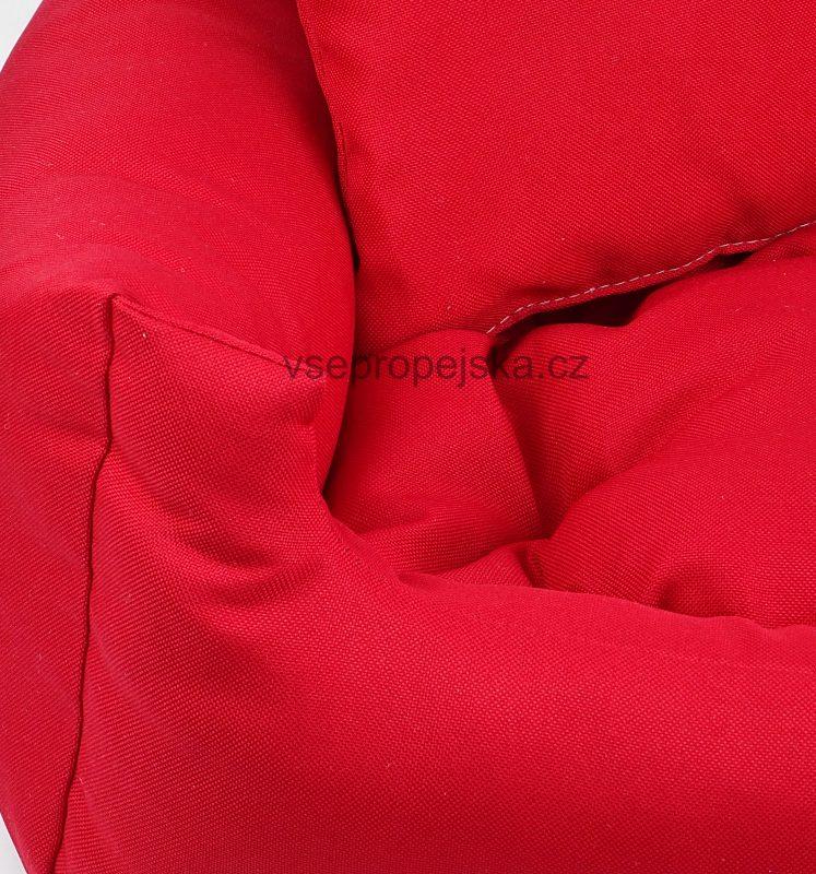 Lux červený pelech pro kočku