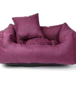 Lux fialový pelech pro kočku