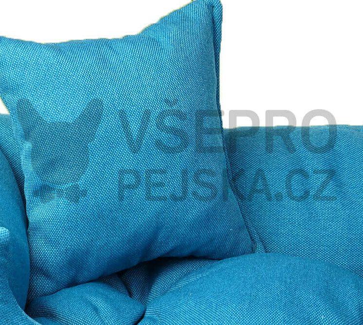 Lux modrý pelech pro kočku