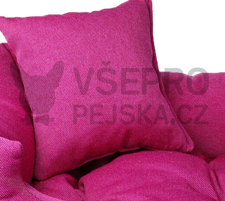 Lux růžový pelech pro kočku