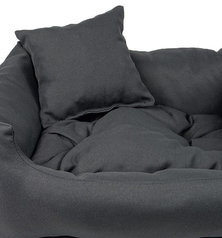 Lux tmavě šedý pelech pro kočku